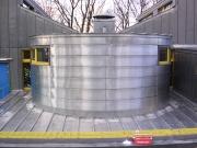 <h5>Garderie de Valency Lausanne : Revêtements métalliques cintrés, toiture et façades</h5>