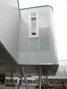 <h5>Collège de Begnins : Façades ventilées en polycarbonate</h5>