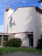 <h5>Ouvrage Eglise du Bon Pasteur Prilly : Façades ventilées avec panneaux Verotec et Rustique Système STP</h5>