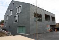 <h5>Maison de Commune Carouge : Revêtement en ardoise naturelle</h5>