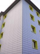 <h5>Ouvrage Champrilly 2-4 Lausanne :  Façades ventilées revêtement fibro ciment type Clinat</h5>